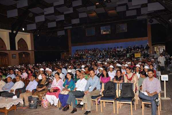 Participants at Gaiety Theatre, The Redige, Shimla