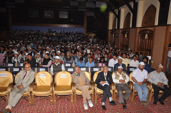 Participants at Gaiety Theater, The Mall Shimla